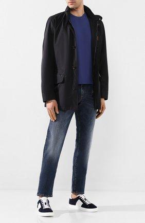 Мужская куртка barber-gf MOORER темно-синего цвета, арт. BARBER-GF/P20M101BL0W | Фото 2