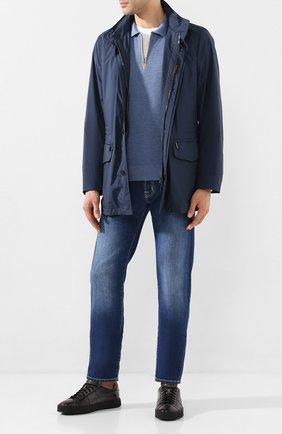 Мужская куртка barber-stp2 MOORER синего цвета, арт. BARBER-STP2/P20M102ST0P | Фото 2