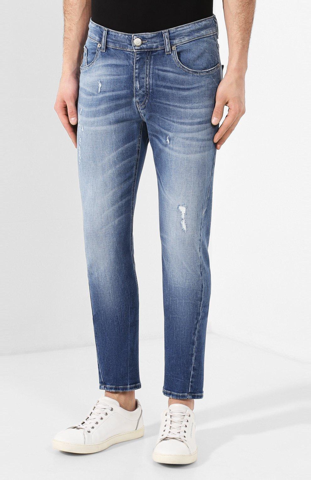 Мужские джинсы PREMIUM MOOD DENIM SUPERIOR синего цвета, арт. S20 0352752182/BARRET | Фото 3