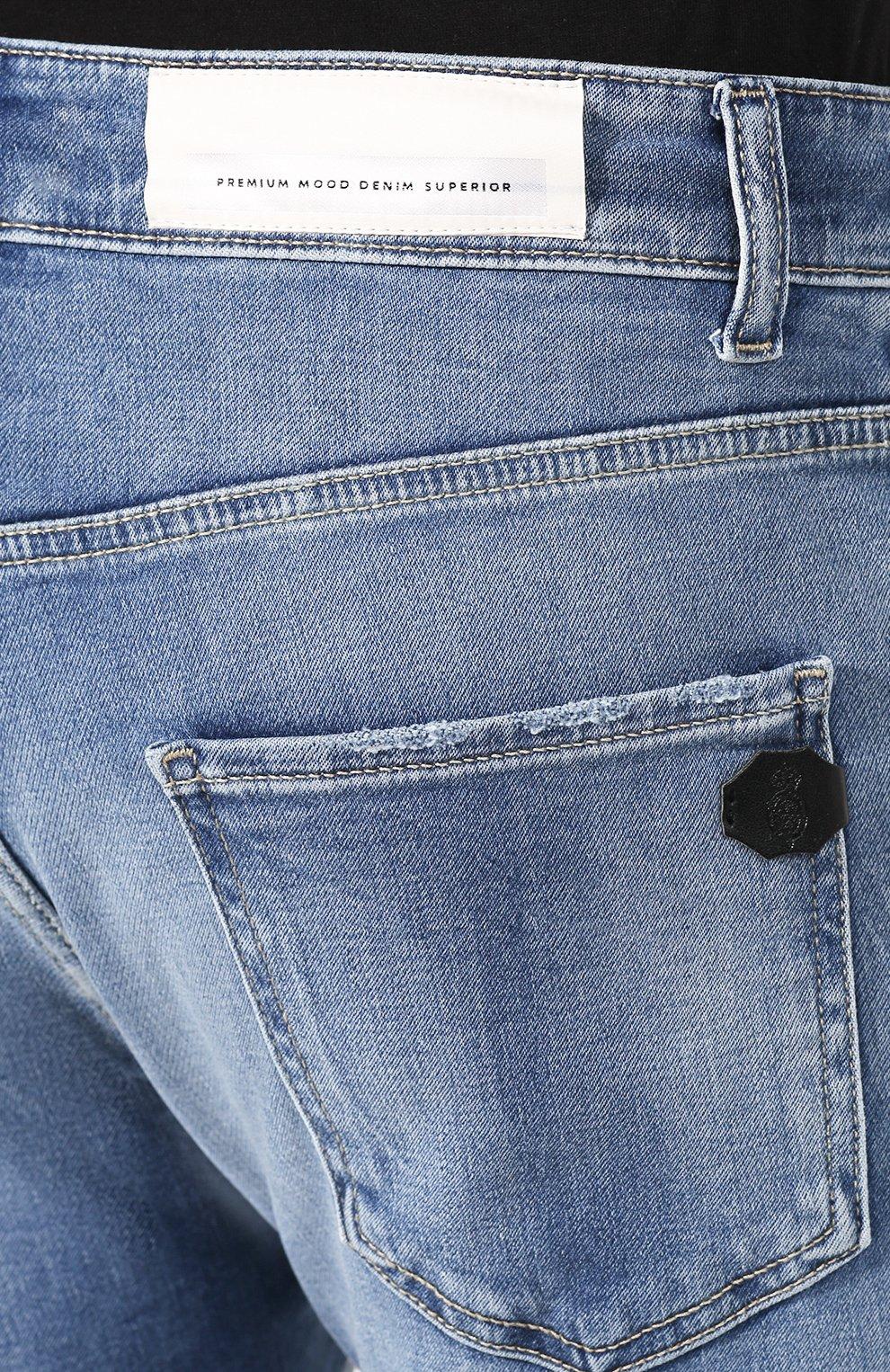 Мужские джинсы PREMIUM MOOD DENIM SUPERIOR синего цвета, арт. S20 0352752182/BARRET | Фото 5