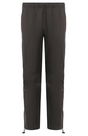Мужские брюки из смеси хлопка и вискозы BOTTEGA VENETA темно-серого цвета, арт. 608707/VA5Y0 | Фото 1