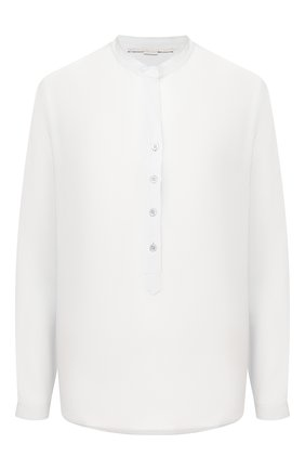 Женская шелковая блузка STELLA MCCARTNEY голубого цвета, арт. 531885/SY206 | Фото 1
