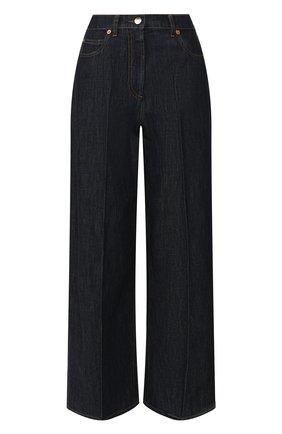 Женские джинсы VALENTINO синего цвета, арт. TB3DD09L55F | Фото 1