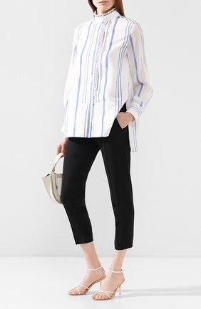 Женская рубашка CHLOÉ белого цвета, арт. CHC20SHT80360 | Фото 2