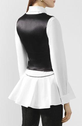 Женский жилет DOLCE & GABBANA черного цвета, арт. F79H5T/FJRCM | Фото 4