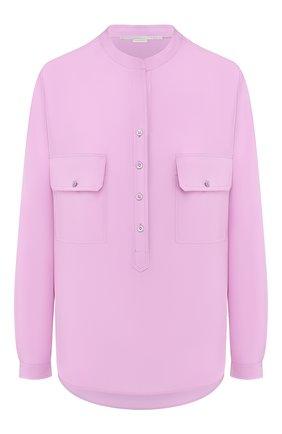 Женская шелковая блузка STELLA MCCARTNEY сиреневого цвета, арт. 531899/SY206 | Фото 1