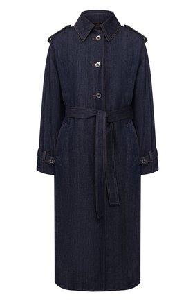 Женское джинсовое пальто DOLCE & GABBANA темно-синего цвета, арт. F0Z44D/G899T | Фото 1