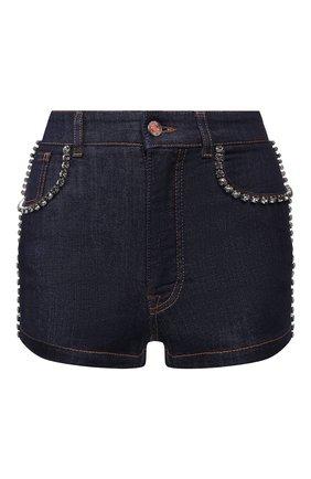 Женские джинсовые шорты DOLCE & GABBANA синего цвета, арт. FTB06Z/G898Z | Фото 1