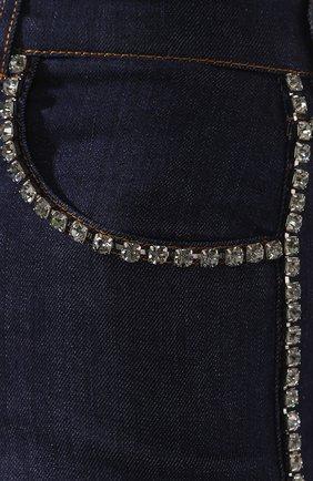 Женские джинсовые шорты DOLCE & GABBANA синего цвета, арт. FTB06Z/G898Z | Фото 5