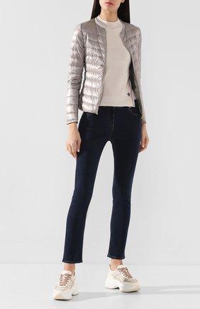 Пуловер из смеси шелка и шерсти | Фото №2