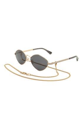Женские солнцезащитные очки JIMMY CHOO серого цвета, арт. S0NNY 2F7 | Фото 1