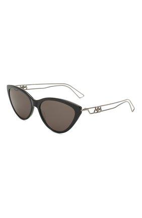 Мужские солнцезащитные очки BALENCIAGA черного цвета, арт. BB0052 003 | Фото 1