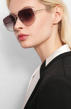 Мужские солнцезащитные очки EQUE.M серого цвета, арт. CALIF0RNIA G0LD/SS | Фото 2