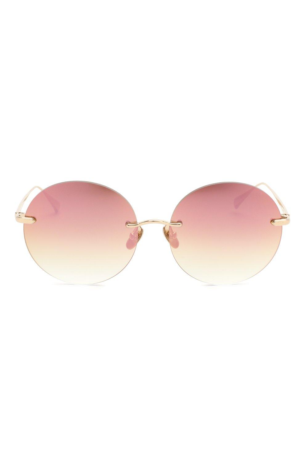 Женские солнцезащитные очки EQUE.M розового цвета, арт. NKNK/SLG-PM | Фото 3