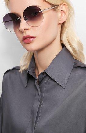 Мужские солнцезащитные очки EQUE.M серого цвета, арт. NKNK/SS | Фото 2