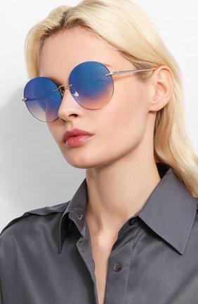 Мужские солнцезащитные очки EQUE.M голубого цвета, арт. NKNK/SS-BM | Фото 2