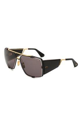 Мужские солнцезащитные очки DITA черного цвета, арт. S0ULINER-TW0/03 | Фото 1