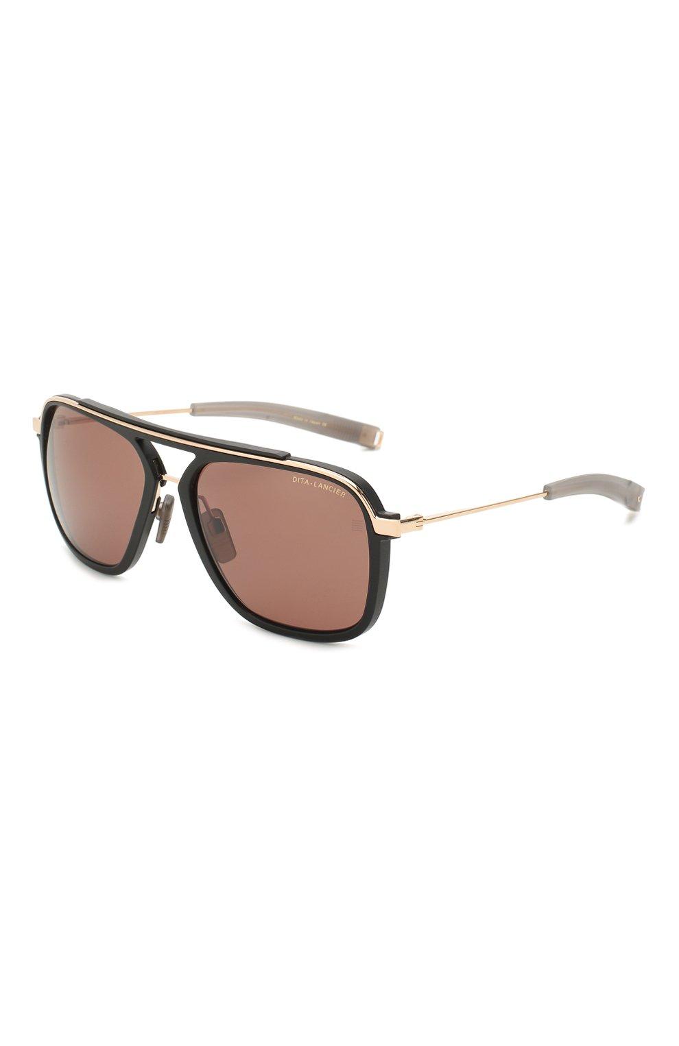 Женские солнцезащитные очки DITA черного цвета, арт. LSA-400/01   Фото 1