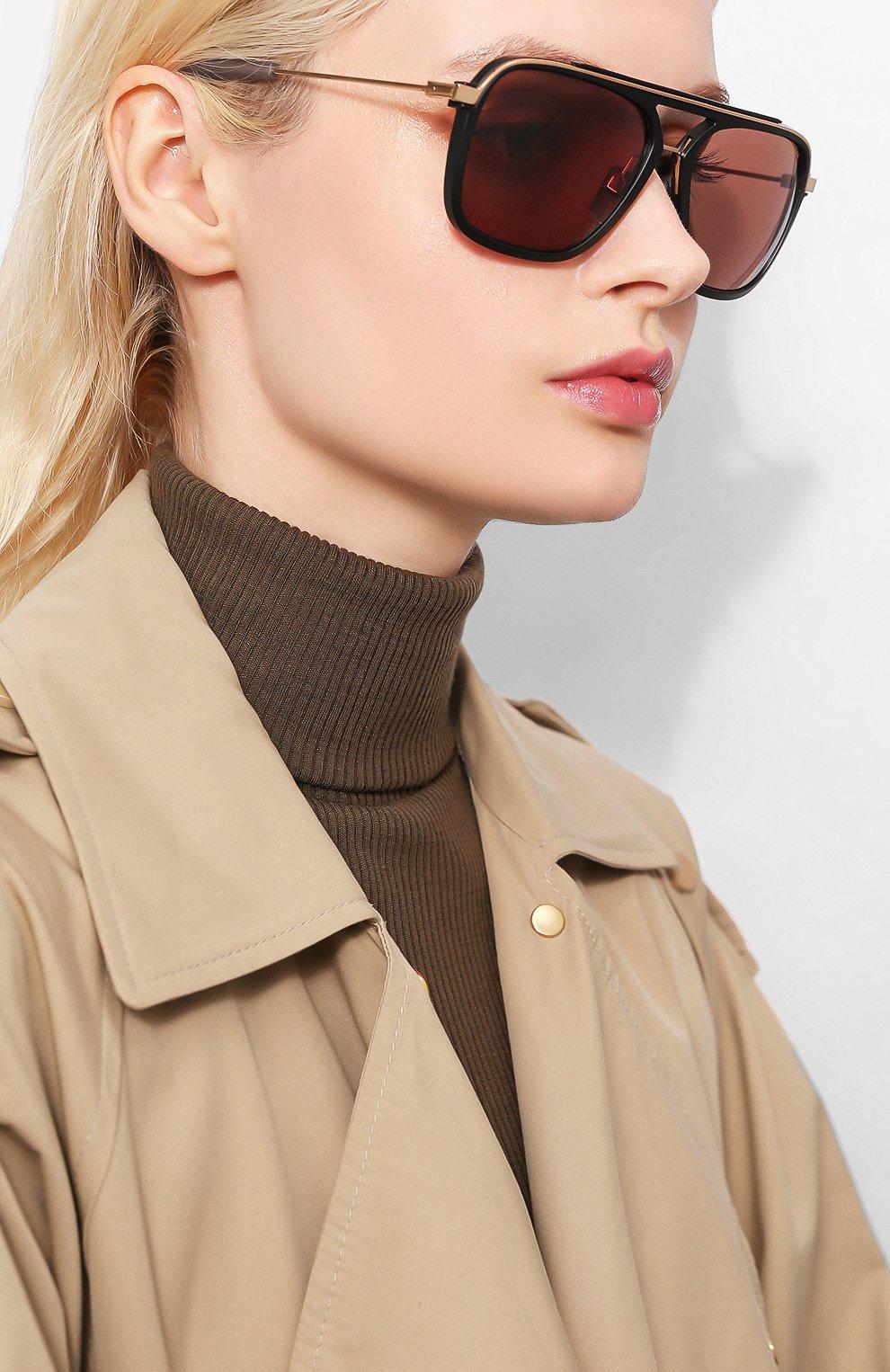 Женские солнцезащитные очки DITA черного цвета, арт. LSA-400/01   Фото 2