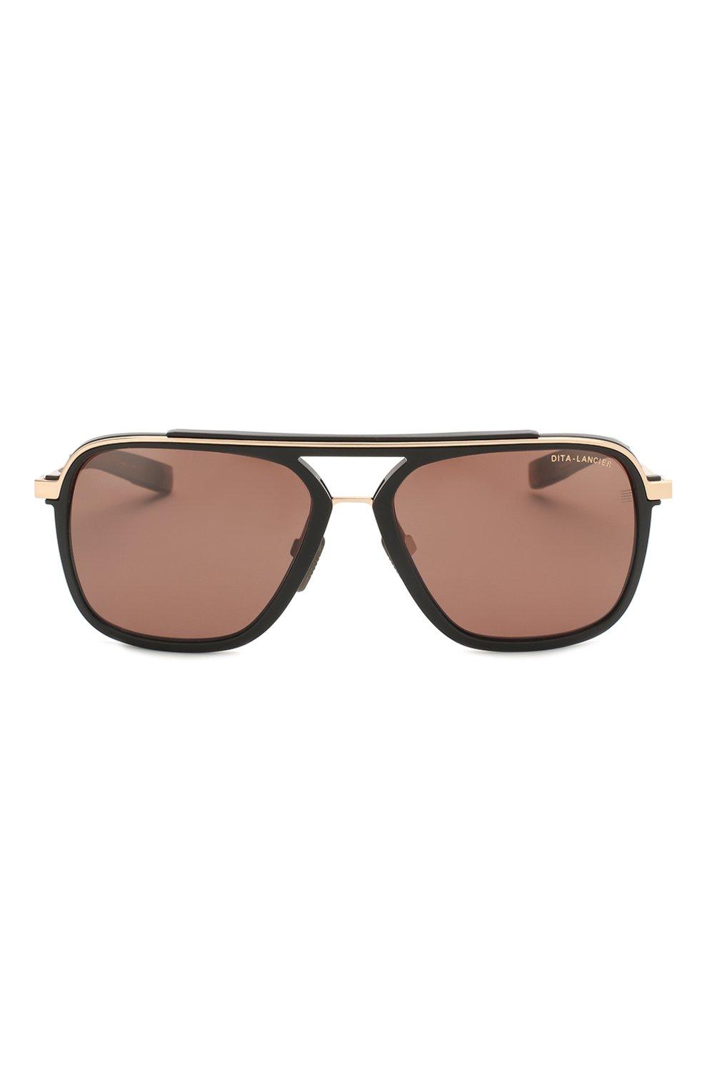 Женские солнцезащитные очки DITA черного цвета, арт. LSA-400/01   Фото 4