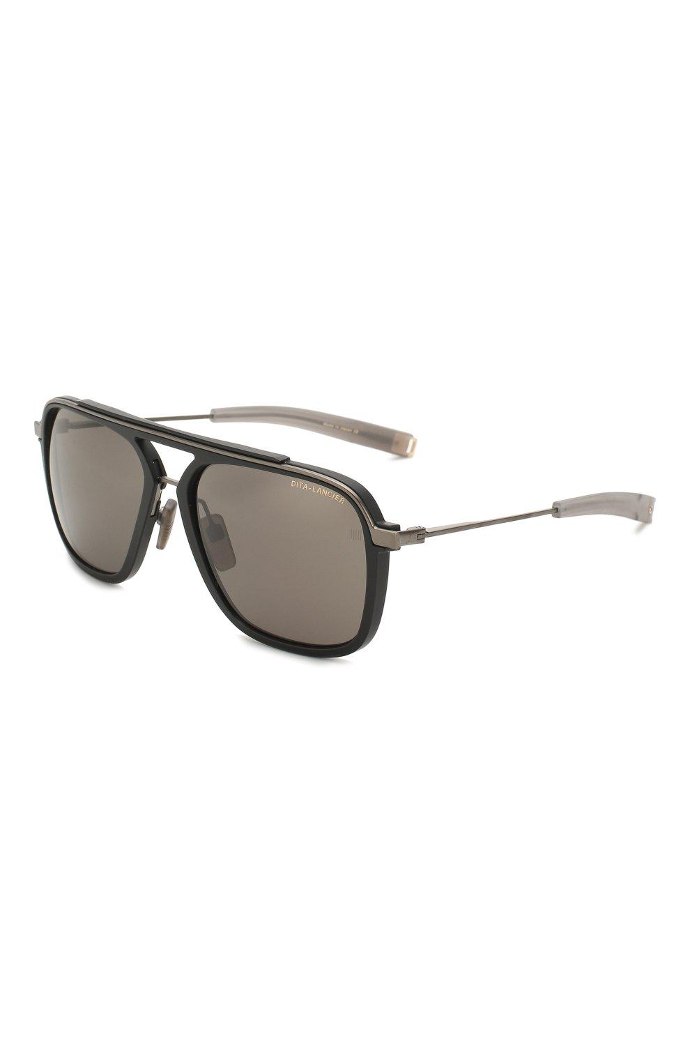 Женские солнцезащитные очки DITA черного цвета, арт. LSA-400/02 | Фото 1