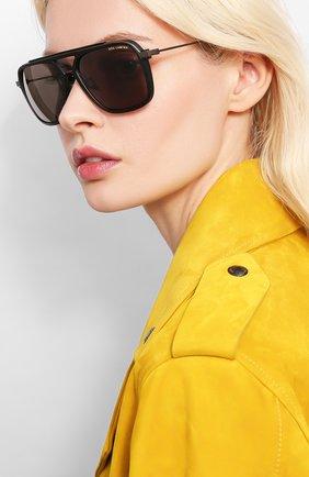 Женские солнцезащитные очки DITA черного цвета, арт. LSA-400/02 | Фото 2