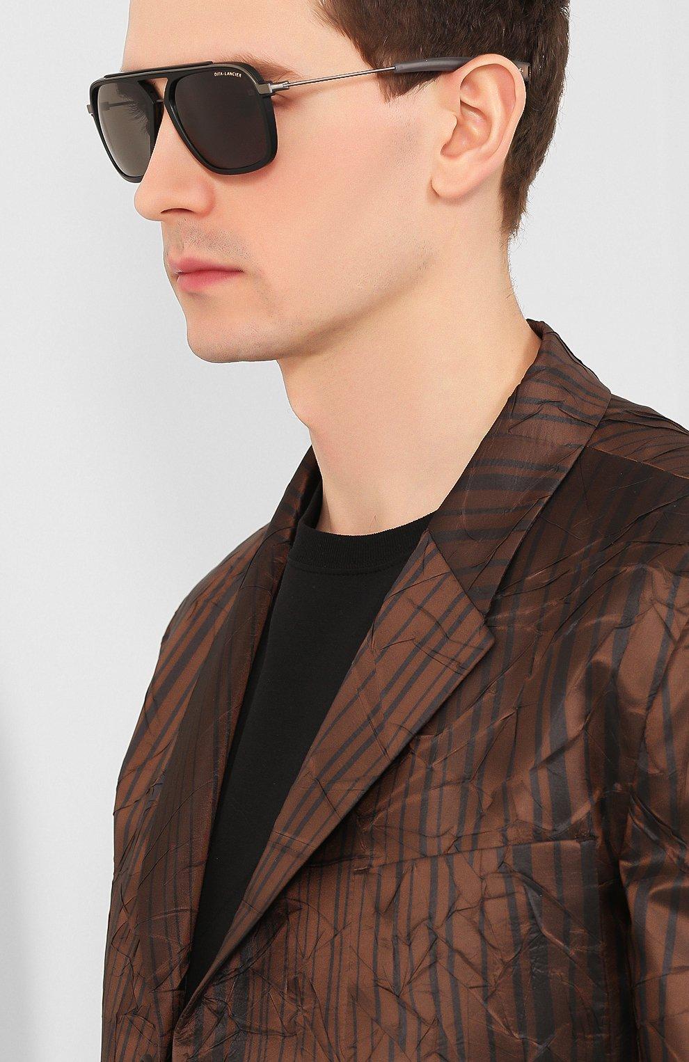 Женские солнцезащитные очки DITA черного цвета, арт. LSA-400/02 | Фото 3