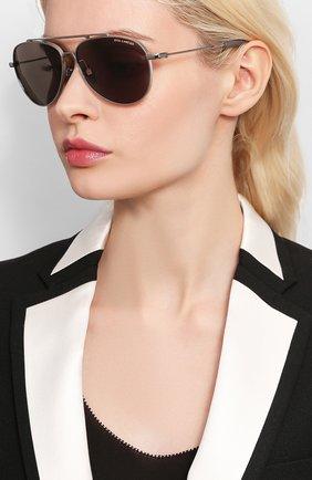 Мужские солнцезащитные очки DITA серого цвета, арт. LSA-101/02 | Фото 2