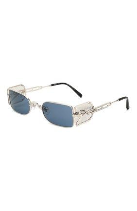 Женские солнцезащитные очки MATSUDA серебряного цвета, арт. 10611H PW-BS   Фото 1 (Тип очков: С/з; Очки форма: Прямоугольные; Оптика Гендер: оптика-унисекс)