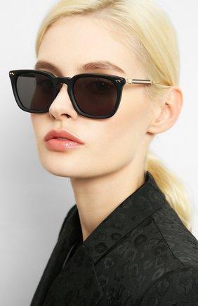 Женские солнцезащитные очки MATSUDA черного цвета, арт. M2043 MBK | Фото 2