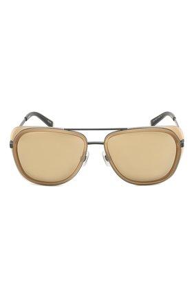 Женские солнцезащитные очки MATSUDA светло-коричневого цвета, арт. M3023 MCM-MBK | Фото 4 (Тип очков: С/з; Очки форма: Авиаторы; Оптика Гендер: оптика-унисекс)