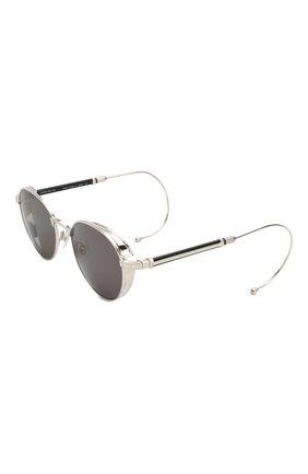 Мужские солнцезащитные очки MATSUDA серебряного цвета, арт. M3061 BS | Фото 1