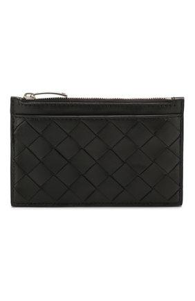 Женская кожаный футляр для ключей BOTTEGA VENETA черного цвета, арт. 608784/VCPP3 | Фото 1