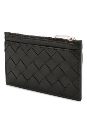 Женская кожаный футляр для ключей BOTTEGA VENETA черного цвета, арт. 608784/VCPP3 | Фото 2