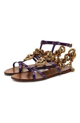 Кожаные сандалии Devotion | Фото №1