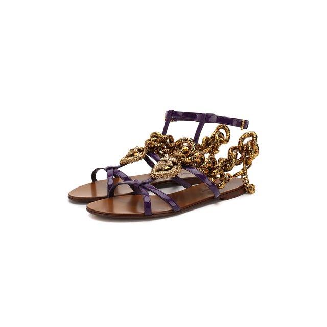 Кожаные сандалии Devotion Dolce & Gabbana