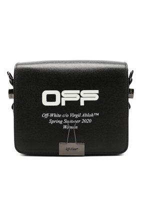 Женская сумка binder clip OFF-WHITE черного цвета, арт. 0WNA011R204230731001 | Фото 1