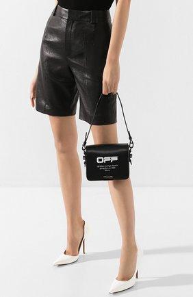 Женская сумка binder clip OFF-WHITE черного цвета, арт. 0WNA011R204230731001 | Фото 2