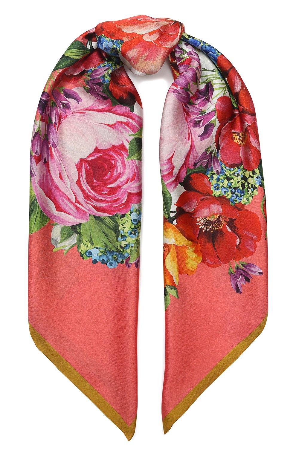 платок dolce gabbana женский