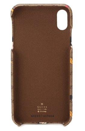 Мужской чехол для iphone x/xs disney x gucci GUCCI коричневого цвета, арт. 602557/HWYAM | Фото 2