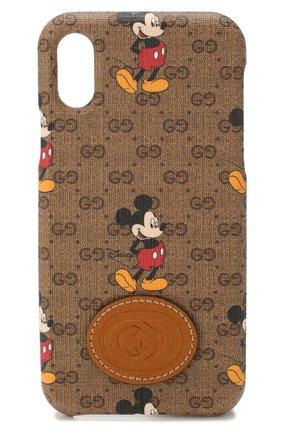 Чехол для iPhone XS Max Disney x Gucci | Фото №1