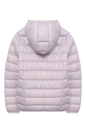 Детского пуховая куртка с капюшоном EA 7 сиреневого цвета, арт. 8NBB34/BN29Z | Фото 2