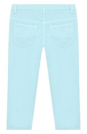 Детские джинсы VERSACE голубого цвета, арт. YB000123/A233747 | Фото 2