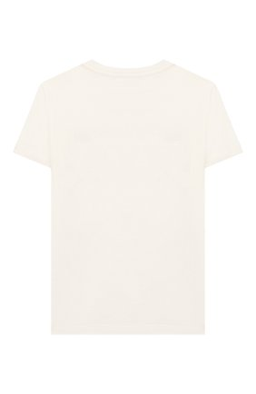 Детская хлопковая футболка VERSACE белого цвета, арт. YC000280/YA00079/8A-14A | Фото 2