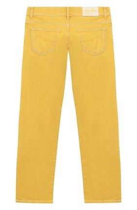 Детские джинсы JACOB COHEN желтого цвета, арт. 620 J-03002-W4 | Фото 2
