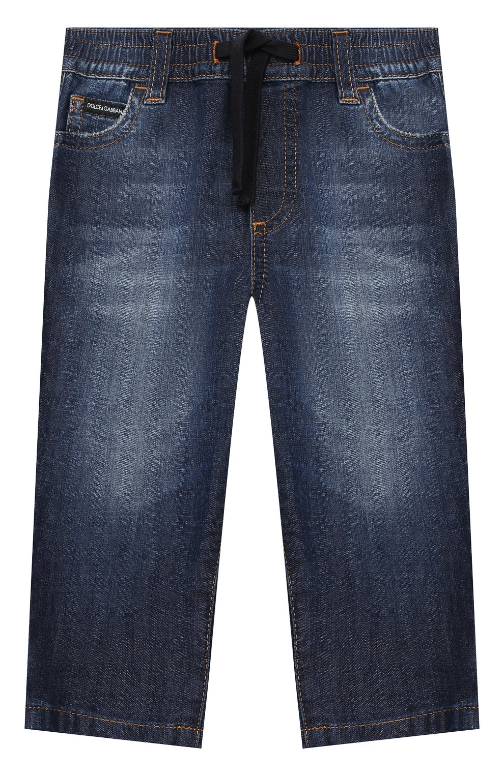 Детские джинсы DOLCE & GABBANA синего цвета, арт. L13P30/LD878   Фото 1