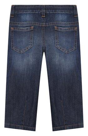 Детские джинсы DOLCE & GABBANA синего цвета, арт. L13P30/LD878 | Фото 2