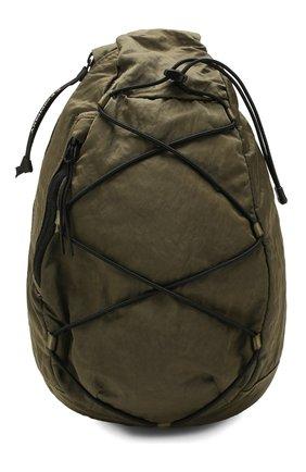 Мужской текстильный рюкзак C.P. COMPANY хаки цвета, арт. 08CMAC038A-005269G | Фото 1