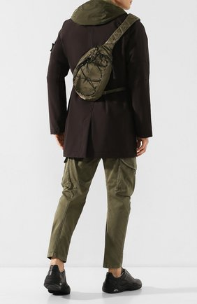 Мужской текстильный рюкзак C.P. COMPANY хаки цвета, арт. 08CMAC038A-005269G | Фото 2