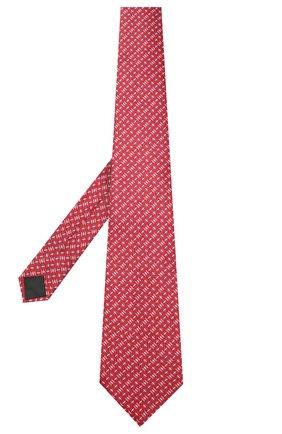 Мужской комплект из галстука и платка LANVIN красного цвета, арт. 4256/TIE SET | Фото 2